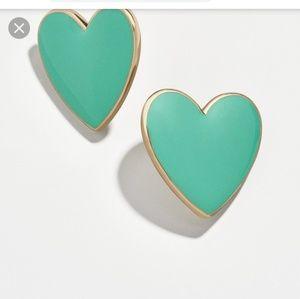 Baublebar heart stud earrings